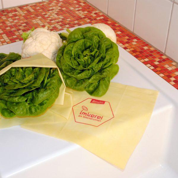 Demeter Bienenwachs-Frischhaltetücher